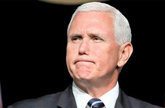 Mike Pence'in Hakan Atilla şeytanlığı! Haberim yok