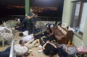 Bağ evindeki FETÖ toplantısına 8 tutuklama