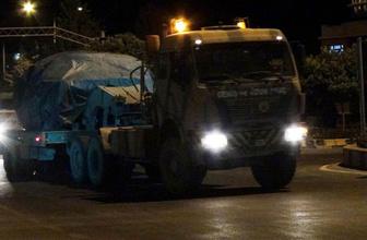 Kilis'e askeri sevkiyat sürüyor