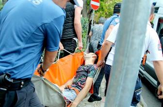 Beşiktaş'ta sokak ortasında silahlı saldırı