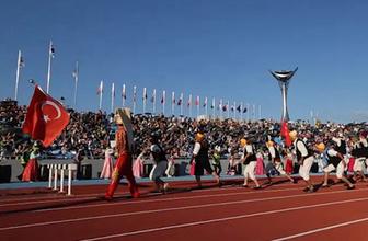 Dünya İtfaiye Oyunları'nda İstanbul İtfaiyesi Rüzgarı