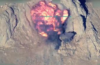 TSK'dan PKK'ya ağır darbe! O anlar anbean görüntülendi…