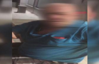 Market kamerası foyasını ortaya çıkardı! Beline sarılıp göğüslerini ellemiş