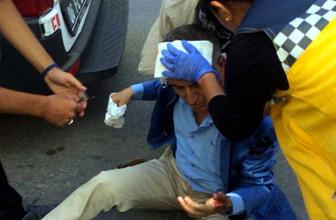 Eski vekil Özcan Yeniçeri, trafik kazası geçirdi!