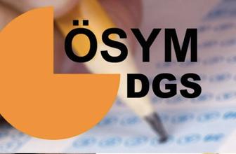 DGS sonuçları ÖSYM 2018 | DGS tercih sonuçları açıklanıyor TC sorgulaması
