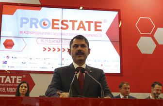Çevre ve Şehircilik Bakanı Murat Kurum Moskova'da