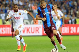 Trabzonspor'un yüzü gülmüyor: Göztepe'ye de yenildiler!