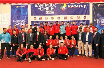 Karate Milli Takımı'ndan Şili'de 12 madalya