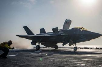 İlk kez oluyor: F-35 savaş uçağı düştü!