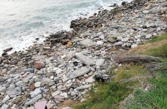 Zonguldak'ta motosiklet denize uçtu: 1 yaralı!