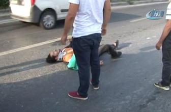 Ünlü oyuncu ve eşi kaza geçirdi!
