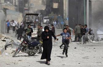 İdlib'de son durum Reuters duyurdu Esad rejimi vurmaya başladı