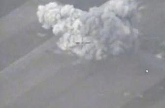 Rusya, İdlib saldırısının görüntülerini paylaştı!