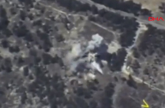 Rusya İdlib saldırısının görüntülerini yayınladı