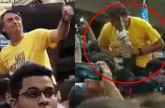 Brezilya'da devlet başkanı adayına bıçaklı saldırı!