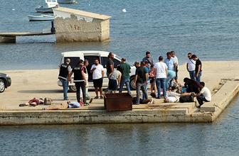FETÖ şüphelisi 15 kişi Midilli Adası'na kaçamadan yakalandı!
