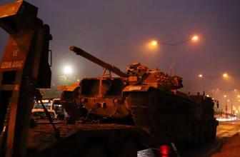 Suriye sınırına askeri sevkiyat sürüyor!