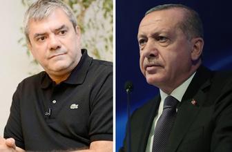 Yılmaz Özdil'den Cumhurbaşkanı Erdoğan'a çirkin bira yanıtı