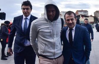 Trabzonsporlu yıldız Rodallega'dan suç duyurusu