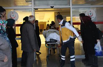 Mermer fabrikasında patlama: Yaralılar var!