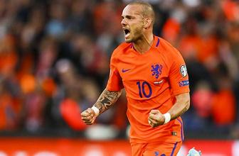 Sneijder Türkiye'ye mi dönüyor? Başkan resmen açıkladı