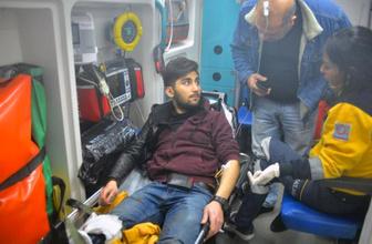 Gaspçılar, üniversite öğrencisini bacağından vurdu