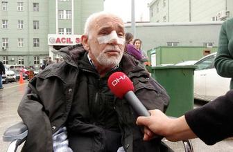 Özel halk otobüsü şoförü yaşlı kadına tokat attı eşinin burnunu kırdı