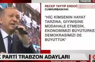 Cumhurbaşkanı Erdoğan: Tutku, burada ne işin var kız