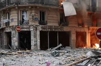 Paris'te patlama! Ölü ve yaralılar var