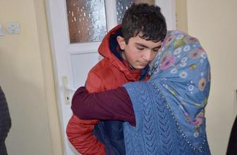 Kaybolan fırıncı çırağı Seydi ailesine kavuştu