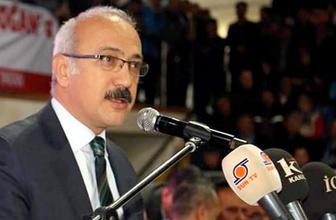 AK Partili Lütfi Elvan: Teker teker gömeceğiz