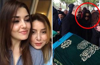 Hande Erçel'den annesi Aylin Erçel'e son görev! Gözyaşları sel oldu