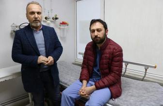 Samsun'da acil servis doktorunu darp ettiler