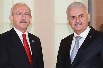 TBMM Başkanı Yıldırım'dan Kılıçdaroğlu'na taziye telgrafı
