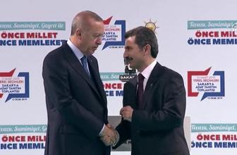 Cumhurbaşkanı Erdoğan AK Parti'nin Sakarya adaylarını açıkladı