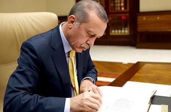 Atama kararları Resmi Gazete'de Erdoğan imzaladı
