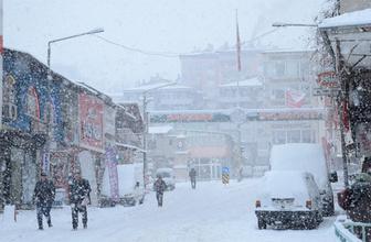 Malatya'da okullara kar tatili!
