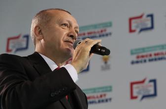 Erdoğan: Trenden inenler bir daha binemeyecekler!