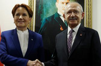Kemal Kılıçdaroğlu ve Meral Akşener görüşmesi başladı