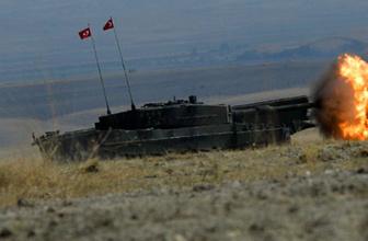 Suriye Tel Rıfat'tan son dakika haberi! TSK PKK mevzilerini vurdu