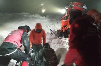 Uludağ'da kaybolan dağcılar saatler sonra bulundu