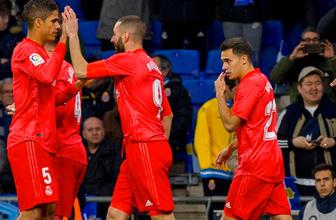 Real Madrid deplasmanda Espanyol'u yendi