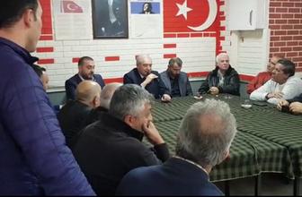 CHP'li üye derdini Mevlüt Uysal'a anlattı