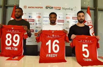 Antalyaspor'da 3 transfer birden