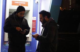 Antalya'da film gibi ATM soygunu!