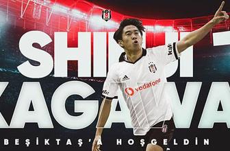 Shinji Kagawa resmen Beşiktaş'ta!