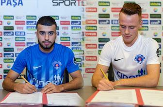 Kasımpaşa 2 genç yıldızla resmi imzaları attı