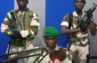 Gabon'da askeri darbe bildiri okuyan askerler yakalandı