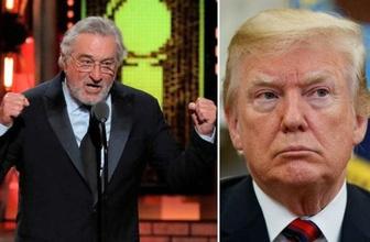 Robert De Niro : 'Trump bir soytarı' deyip fena döktürdü