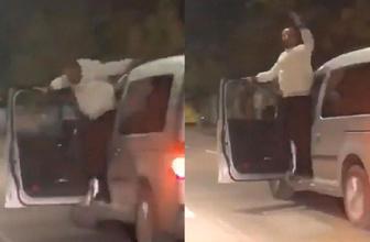 Arabada dans edip hava atmıştı! Faturası ağır oldu